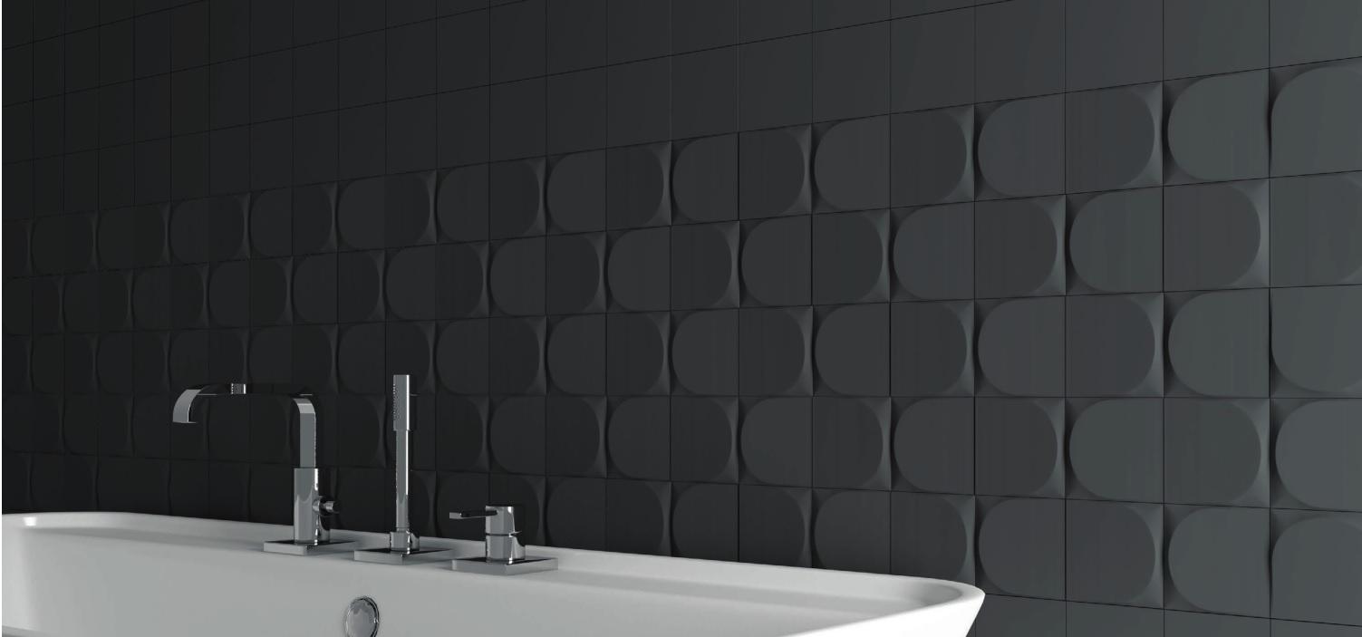 URBAN BLACK MAT 12.5X12.5